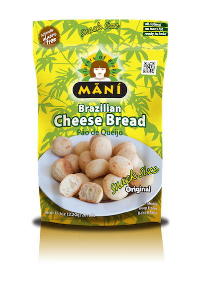 brazilian cheese bread mani snacks