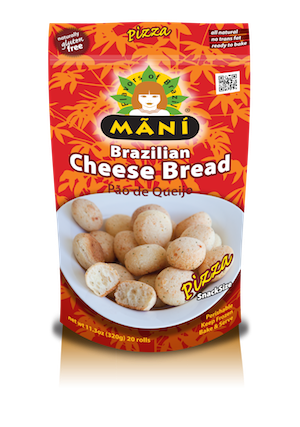 brazilian cheese bread pizza mani snacks